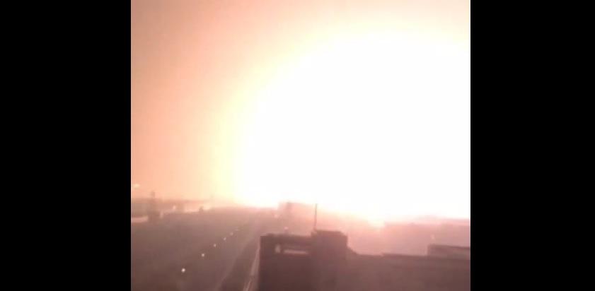 Potężne eksplozje w Chinach. Setki rannych