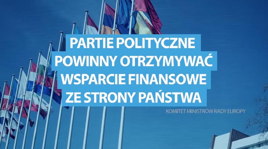 PiS wypuścił spot krytykujący postulat zniesienia finansowania partii z budżetu państwa