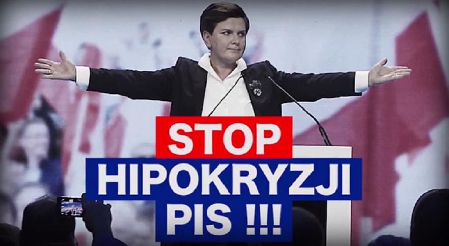"""""""Stop hipokryzji PiS"""". PO odpowiada na spot PiS"""