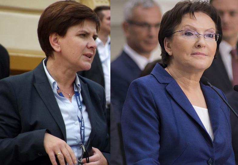 Sondaż dla TVN24: Kto lepszym premierem? Kopacz czy Szydło?