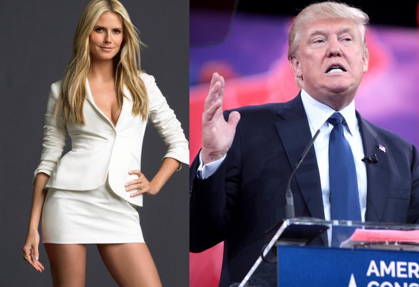 Heidi Klum odgryza się Donaldowi Trumpowi (video)