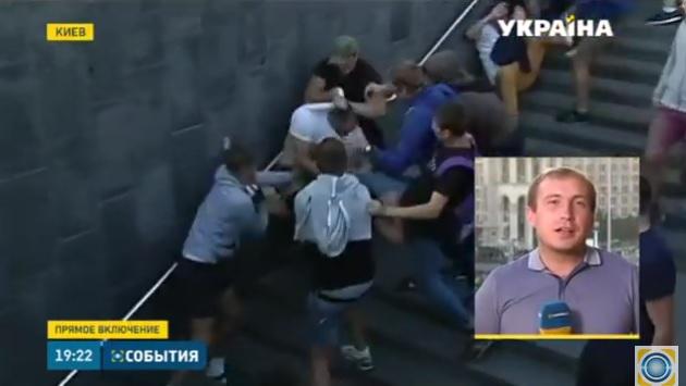 Polscy dyplomaci pobici na Ukrainie (VIDEO)