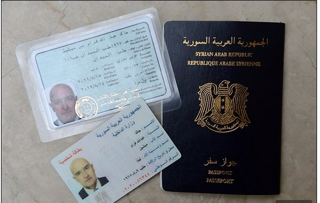Reporter kupił nielegalnie syryjski dowód. Dżihadyści robią to samo