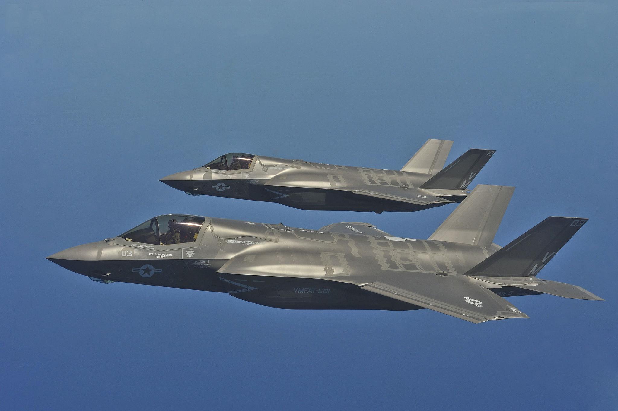 Norwegia kupi samoloty F-35
