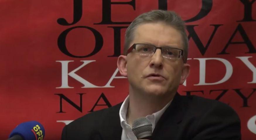 Manipulacja i frontalny atak na G.Brauna w TV Republika (video)