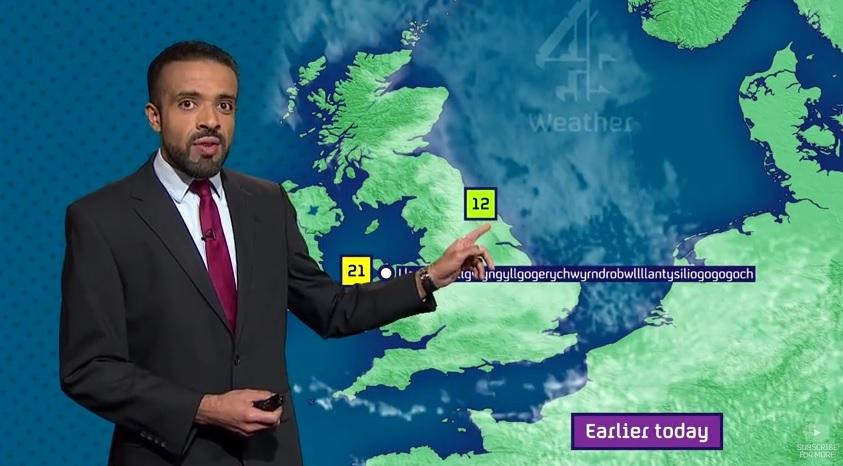 Zaskakujący występ prezentera pogody (video)