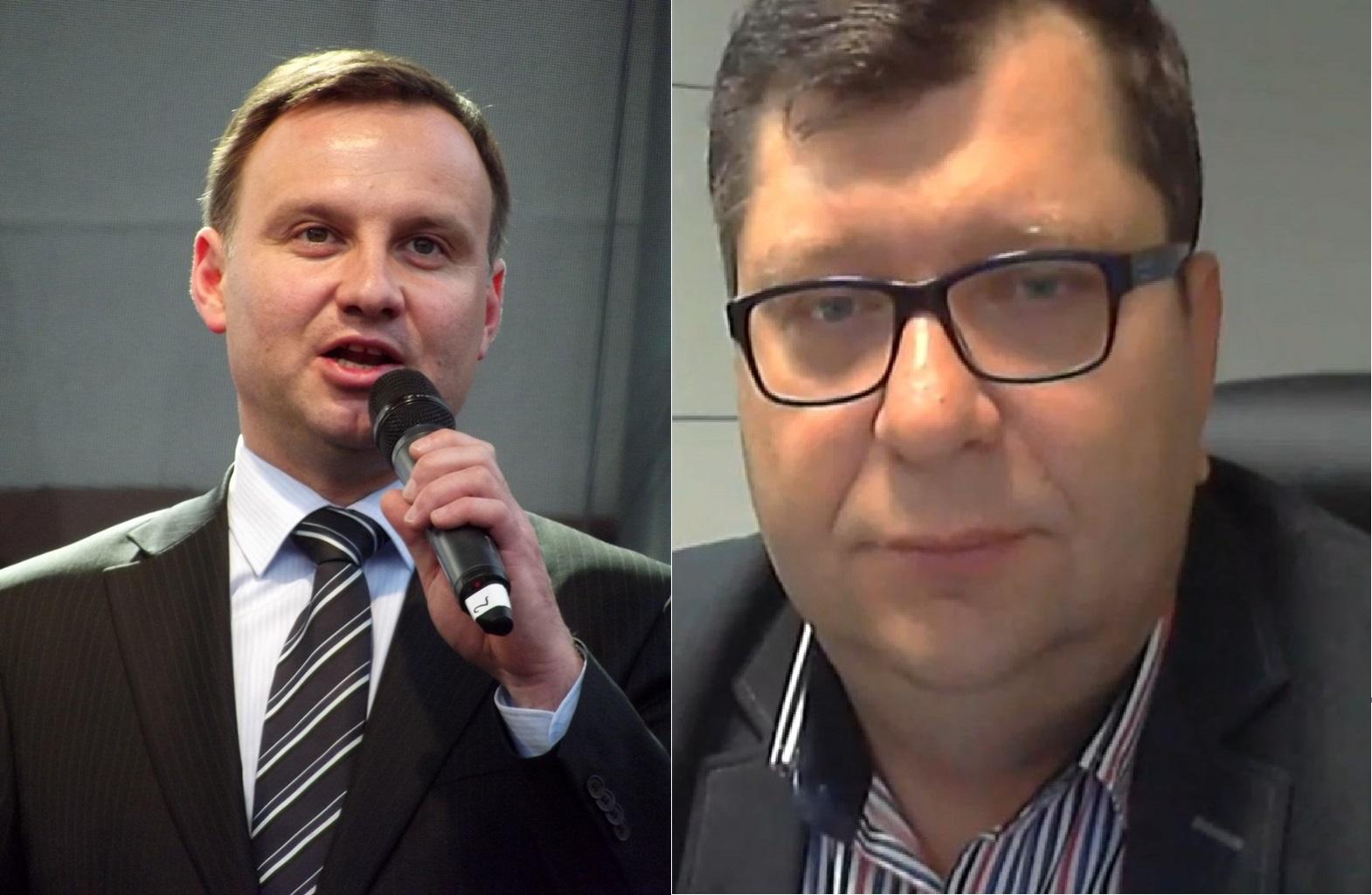 Prokuratura zajmie się słowami Stonogi nt. prezydenta Dudy i prezesa PiS