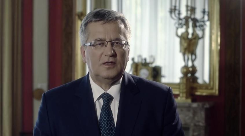 Komorowski włącza się w kampanię Platformy (video)