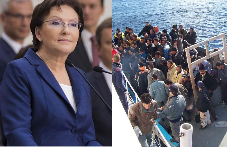 """Niemcy chwalą Kopacz. """"Tylko ona chce przyjąć uchodźców"""""""