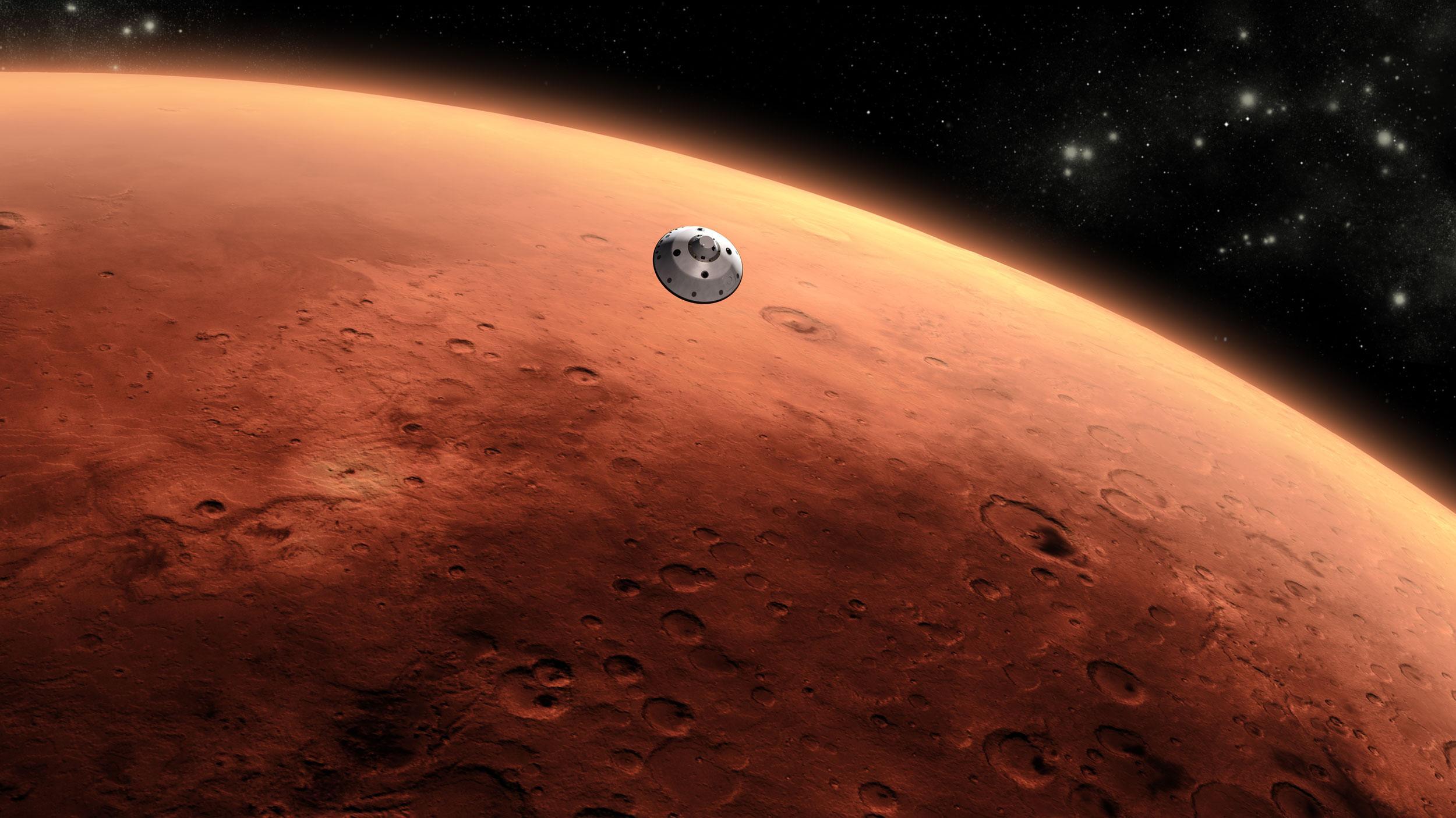 NASA ogłasza przełomowe odkrycie: woda na Marsie
