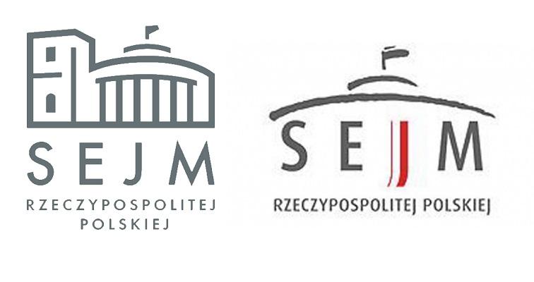 nowe i stare logo sejmu