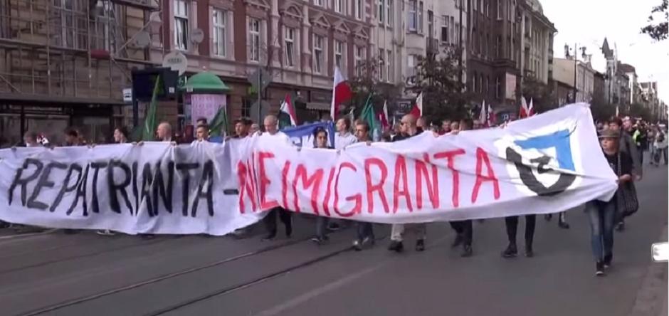 Przez Polskę przeszły wielotysięczne marsze antyimigracyjne