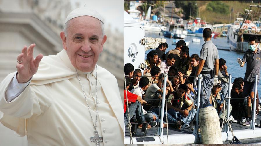 Papież apeluje: Niech każda parafia przyjmie uchodźców!