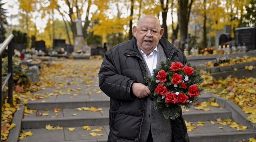 "Urban żegna Millera na cmentarzu: ""Na zawsze w moim sercu"" (video)"