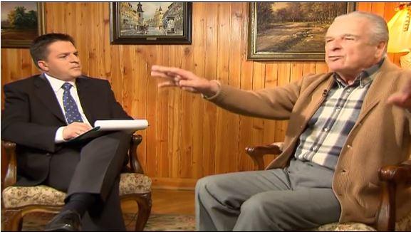 Wstecz#2: Kiszczak przerywa wywiad z TVN24 o zabójstwie Popiełuszki (video)