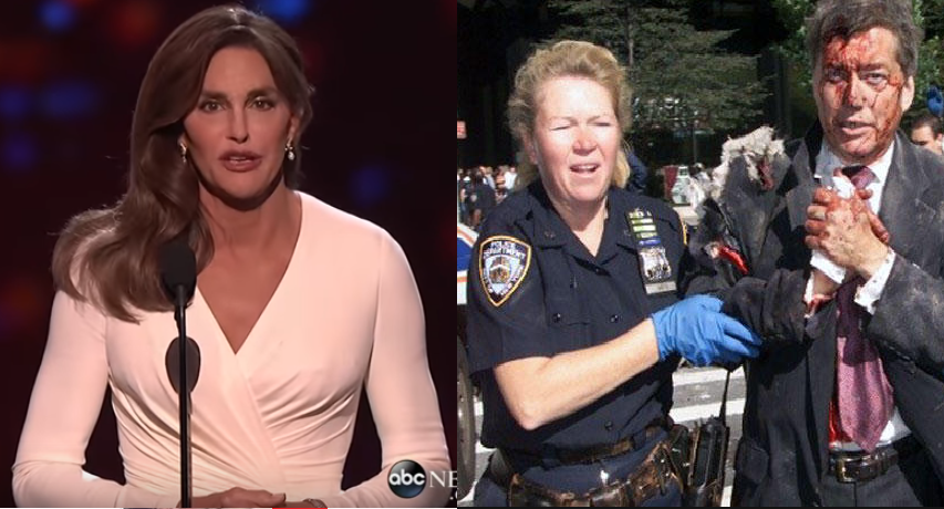 """Mąż bohaterki z WTC oddał jej nagrodę Kobiety Roku przez transseksualistkę. """"To obraza pamięci"""""""