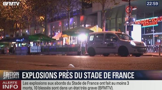 Seria krwawych ataków w Paryżu. Dużo ofiar, prezydent ewakuowany