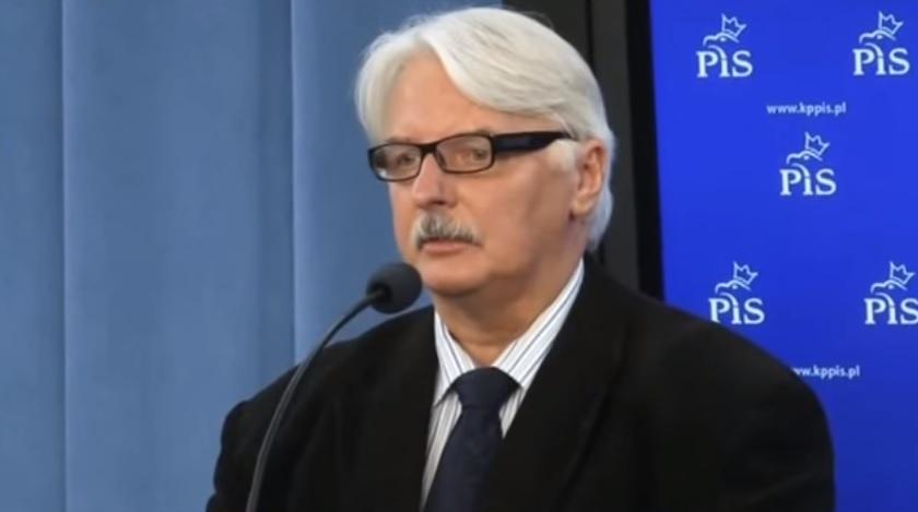 Waszczykowski: PiS popiera utworzenie unijnej armii