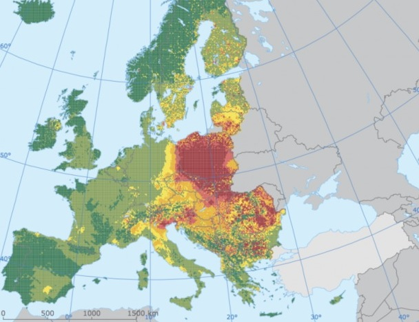Polska liderem w emisji rakotwórczego benzopirenu