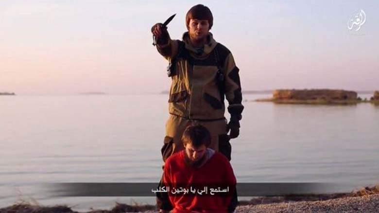 ISIS publikuje egzekucję rosyjskiego agenta