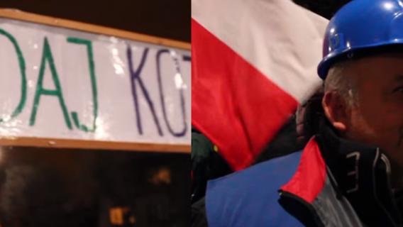 manifestacja kaczyński