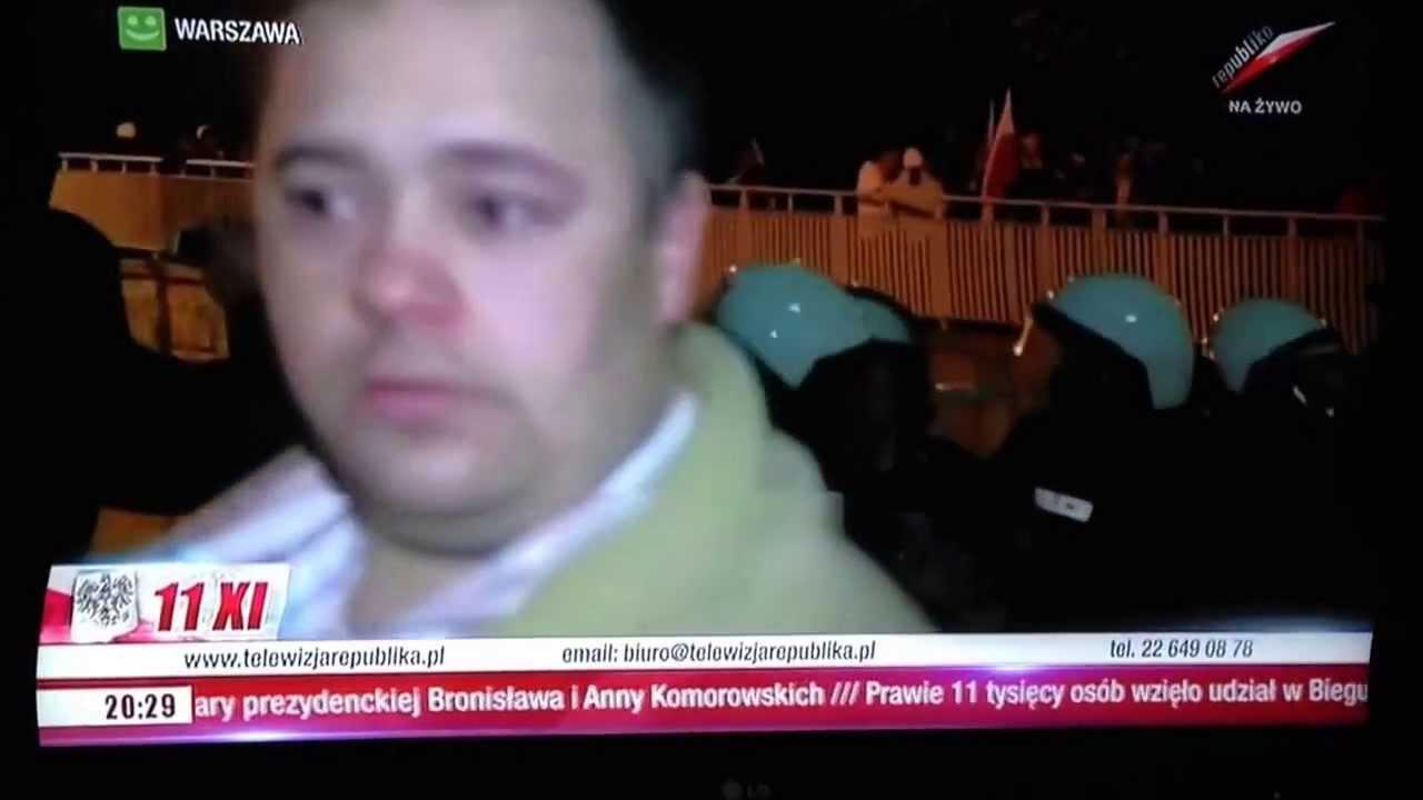 """Dziennikarz od """"został z niego tylko szalik"""" przechodzi do TVP Info"""