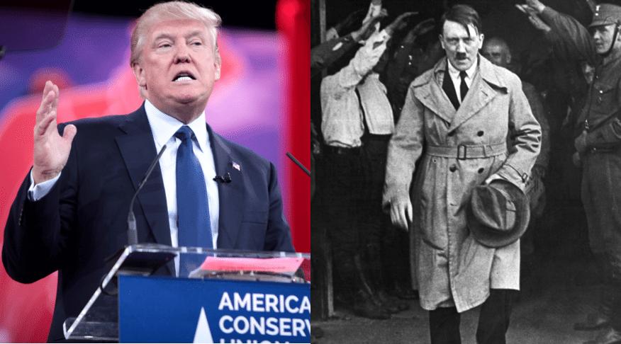 Prezydenci Meksyku porównują Trumpa z Hitlerem. Trump: To mur będzie wyższy