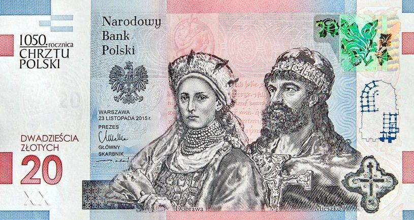 NBP wyemituje banknot z okazji 1050-lecia chrztu Polski