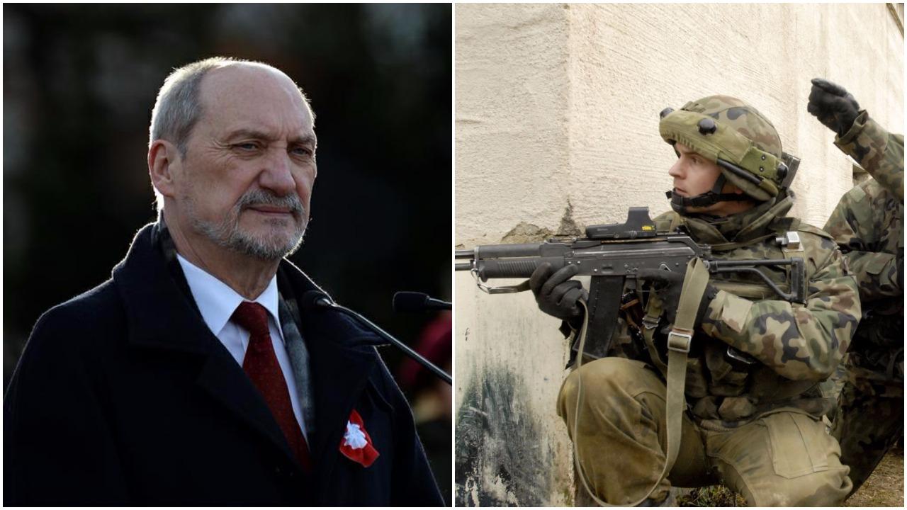 Macierewicz zapowiada wzrost armii, co najmniej o 50 procent