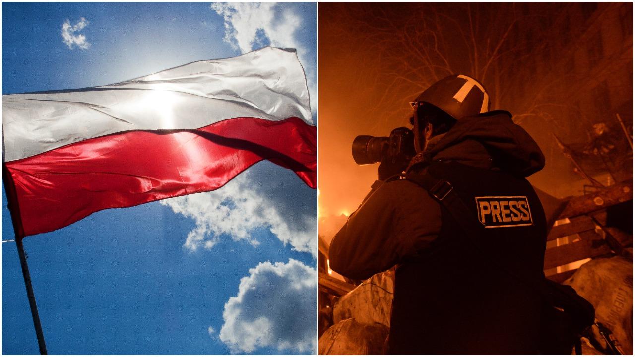 Polska spadła w rankingu wolności mediów. Spadek o 29 oczek