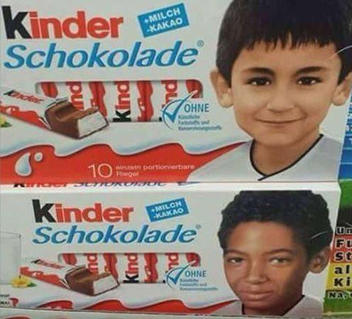 Niemcy: Ciemnoskóre dzieci na opakowaniach czekoladek. Prawica oburzona
