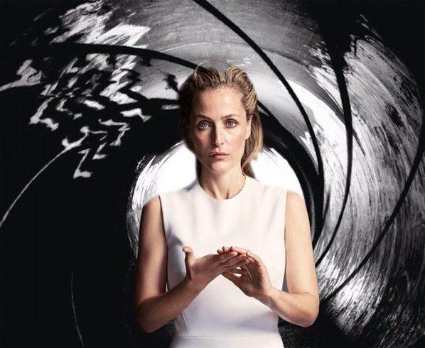 Następny Bond kobietą? Gillian Anderson wygrała plebiscyt