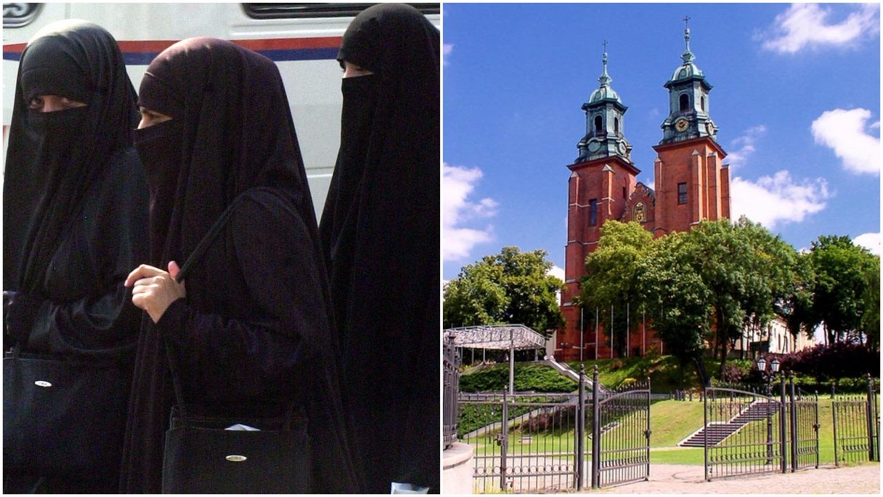 """Islamski performance w bazylice św. Wojciecha. Wierni grzmią: """"To profanacja!"""""""