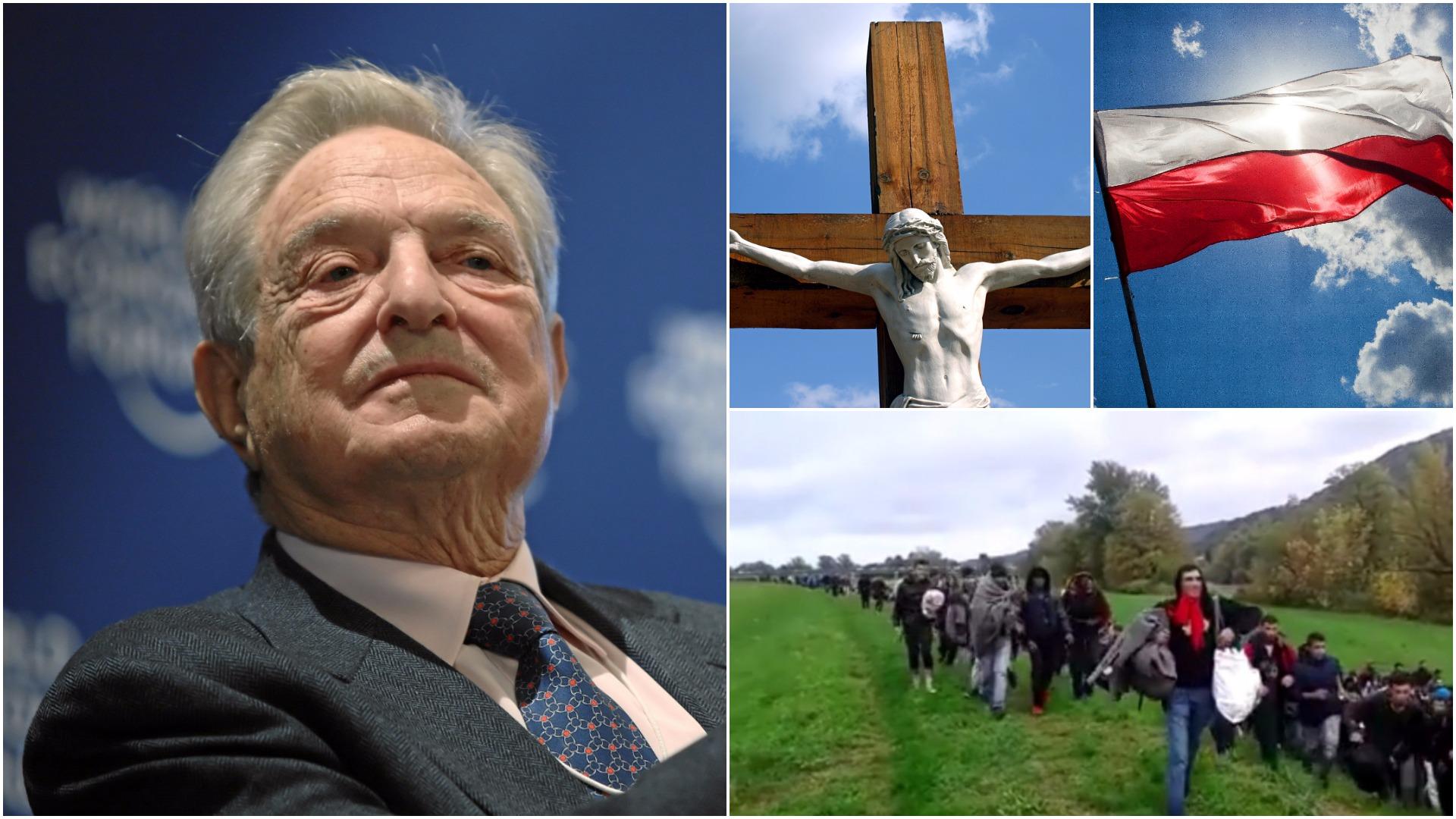 Soros: Muzułmański imigrant to w katolickiej Polsce utożsamienie zła