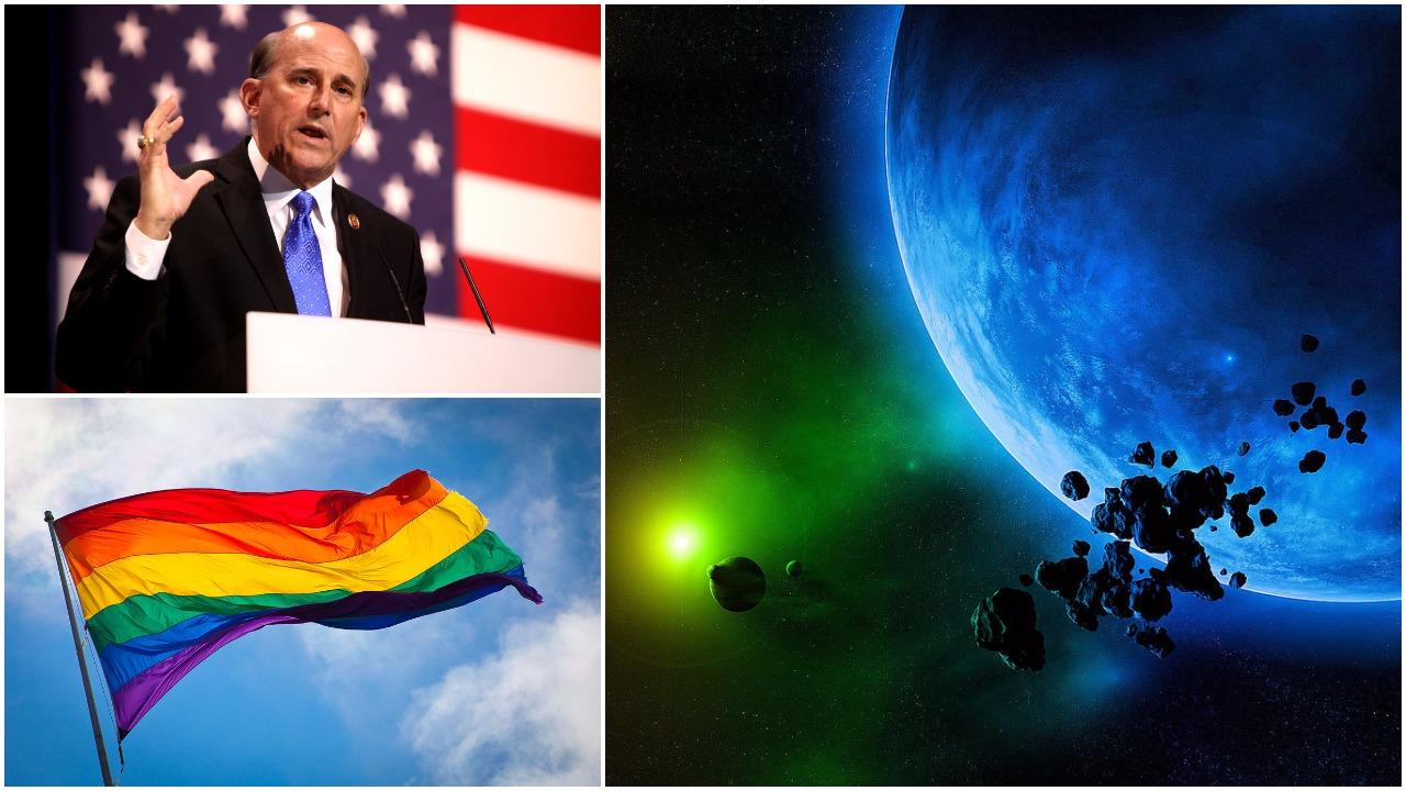 Kongresmen z USA: Największym zagrożeniem dla podboju Kosmosu są geje