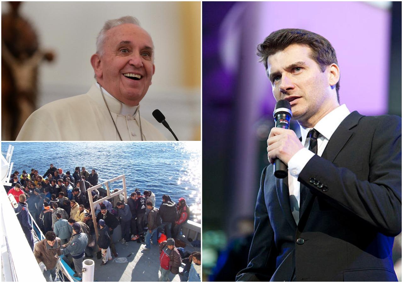 """Kammel kpi z przeciwników przyjmowania imigrantów: """"Papież jest idiotą, Polacy wiedzą najlepiej"""""""