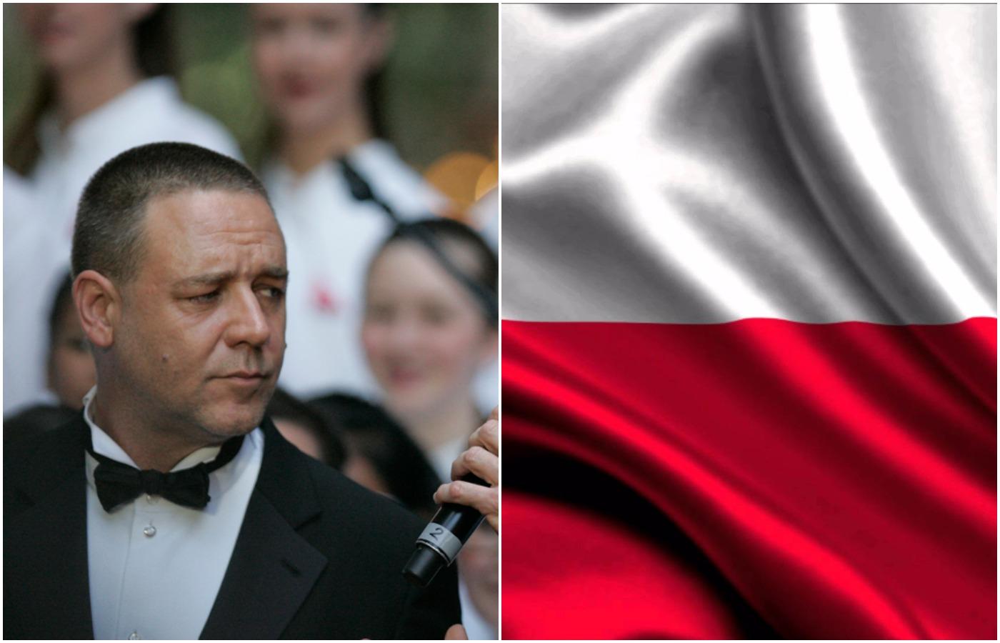 Skąd sympatia Russella Crowe do Polski? Znamy odpowiedź