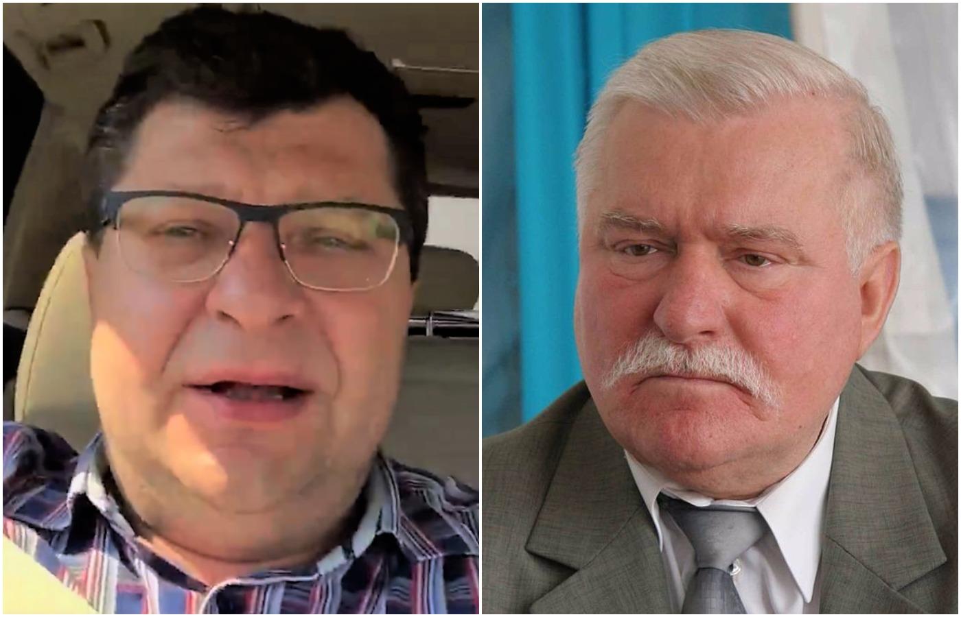 """Stonoga staje w obronie Wałęsy: """"Zamknijcie gęby. To Lech Wałęsa dał wam wolność"""" (video)"""