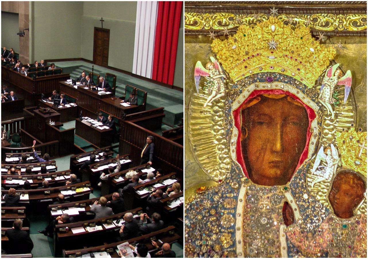 PiS chce ustanowić rok 2017 rokiem Koronacji Matki Bożej Częstochowskiej