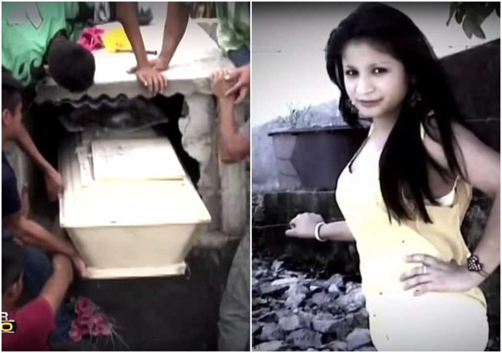 Pochowali żywcem ciężarną 16-latkę. Zorientowali się następnego dnia (video)