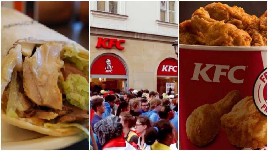 Na ŚDM tylko KFC i kebaby? Nieprawda, choć pielgrzymi wolą te fast foody od polskiej kuchni