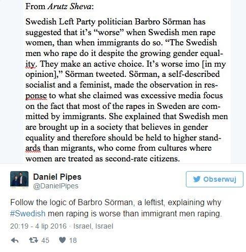 szwedzka feministka