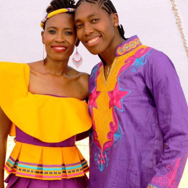 na zdj. Caster Semenya (po prawej) ze swoją żoną, fot. instagram