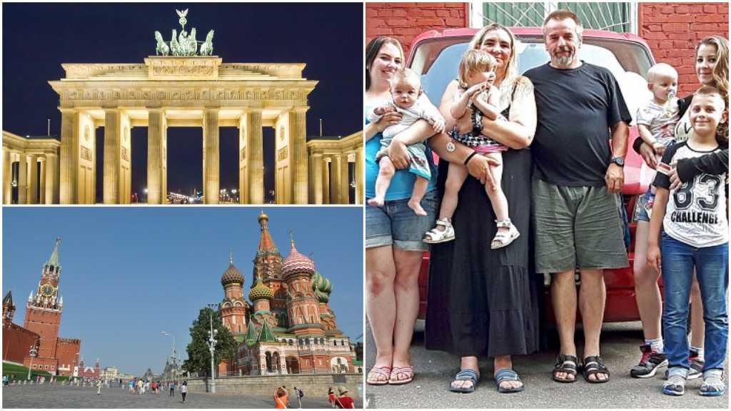 """Niemiecka rodzina wyjechała do Rosji szukać tam azylu. """"W naszym kraju nie jest bezpiecznie"""""""
