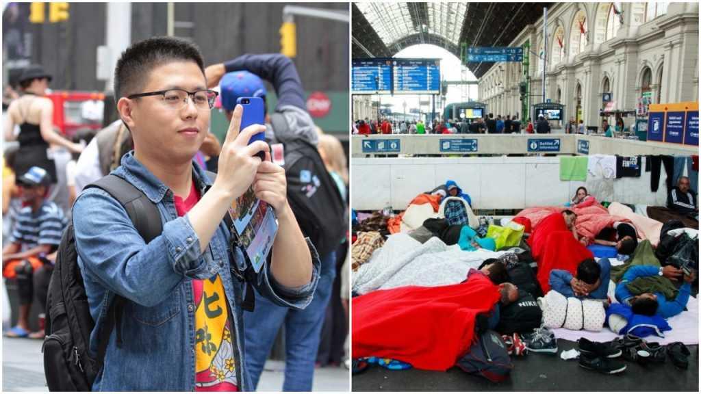 Turysta z Chin spędził w obozie dla uchodźców 12 dni. Pomylił komisariat z urzędem imigracyjnym