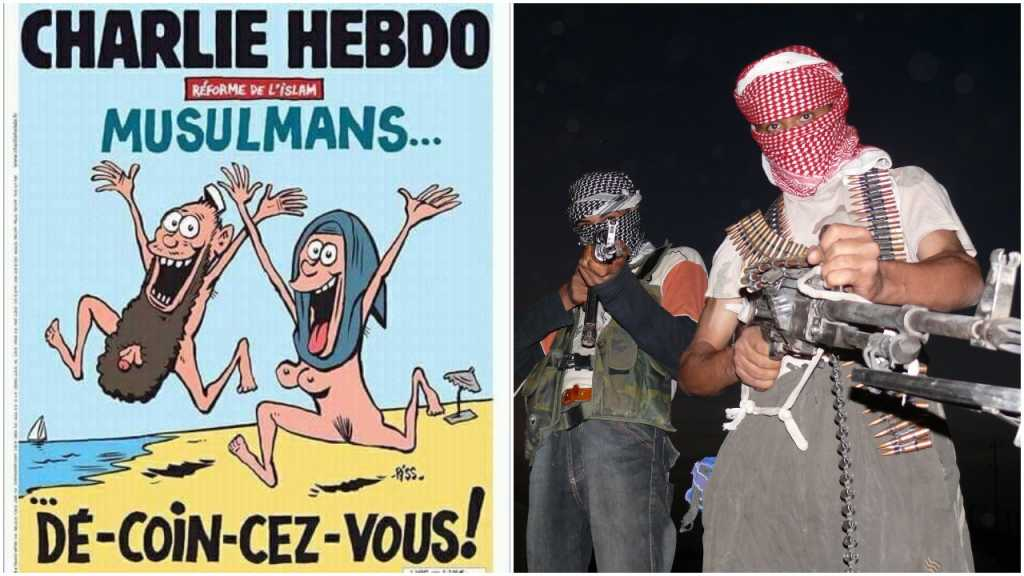 Charlie Hebdo prowokuje nagimi muzułmanami na okładce. Dziennikarze skarżą się na pogróżki