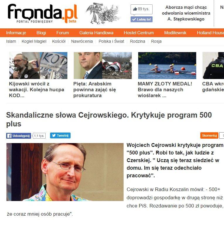 fot. print screen z fronda.pl