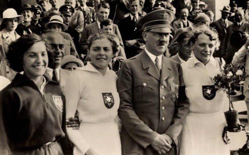 """Polka zdobyła medal olimpijski i zakpiła z Hitlera. """"Nie czuję się mniejsza od pana"""""""