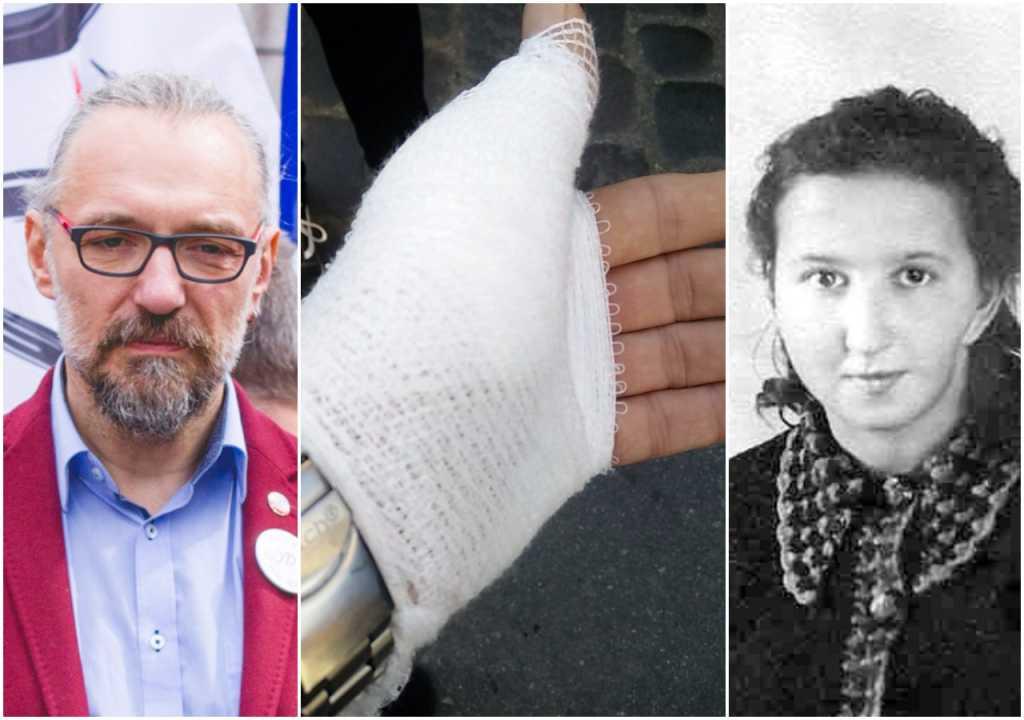 """Bójka na pogrzebie Inki z udziałem Kijowskiego i działaczy KOD. """"Krwawię, boli, ale żyję"""""""