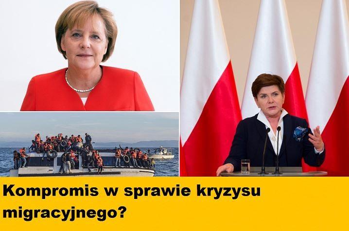 """Oto propozycja Polski dla Niemiec i V4 ws. kryzysu migracyjnego. Szydło: """"To kompromis"""""""